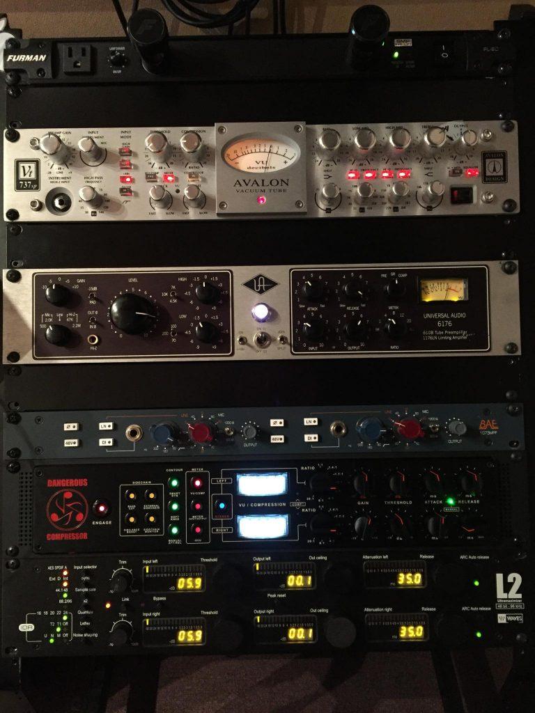 Professional Voice over studio