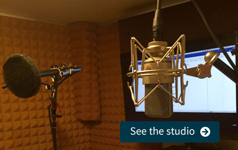 See the Voice Over Studio